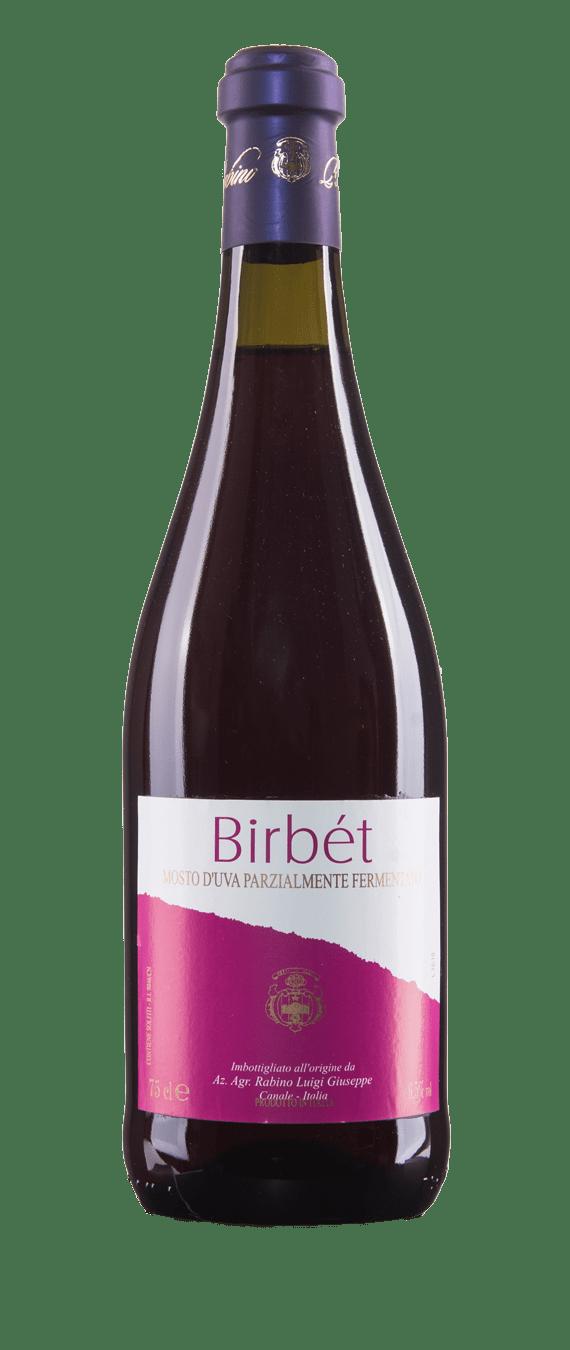 Mosto d'uva parzialmente fermentato Birbét